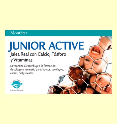 Junior Active - Montstar - 20 viales