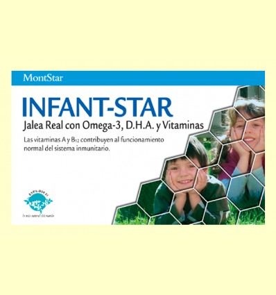 Jalea Infant-Star - MontStar - 20 ampollas