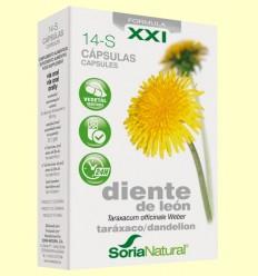 Diente de León 14 S XXI - Soria Natural - 30 cápsulas