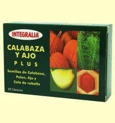 Calabaza y Ajo Plus - Integralia - 60 cápsulas *