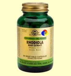 Rhodiola Root Extract - Solgar - 60 cápsulas