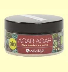 Agar Agar Bio - Mimasa - 40 gramos