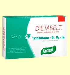 Dietabelt Sazia Triptófano + B1, B3 y B6 - Santiveri - 40 cápsulas