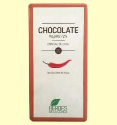 Chocolate Negro con Sal de Chili - Herbes de la Conca - 100 gramos