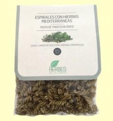 Espirales de Trigo con Hierbas Mediterráneas ECO - Herbes de la Conca - 250 gramos