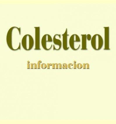 Información sobre el Colesterol