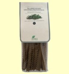 Tallarines Rizados de Espelta con Hierbas Mediterráneas Eco - Herbes de la Conca - 250 gramos