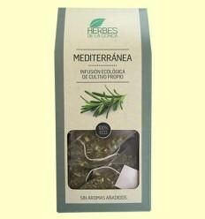 Infusión Mediterránea Eco - Herbes de la Conca - 12 pirámides