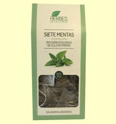 Infusión Siete Mentas Eco - Herbes de la Conca - 12 pirámides