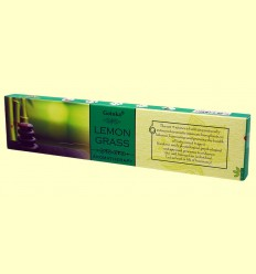 Incienso Lemon Grass - Goloka - 15 gramos
