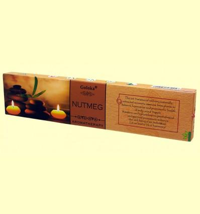 Incienso Nutmeg - Goloka - 15 gramos