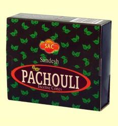 Pachouli - Inciensos India - SAC - 10 conos