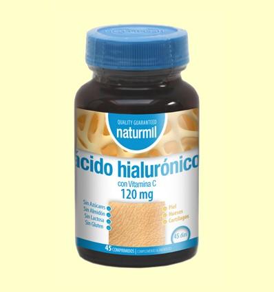 Ácido Hialurónico - Naturmil - 45 comprimidos