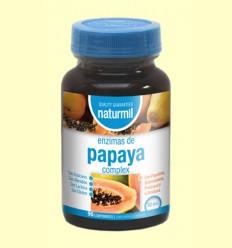 Enzimas de Papaya Complex - Naturmil - 90 comprimidos