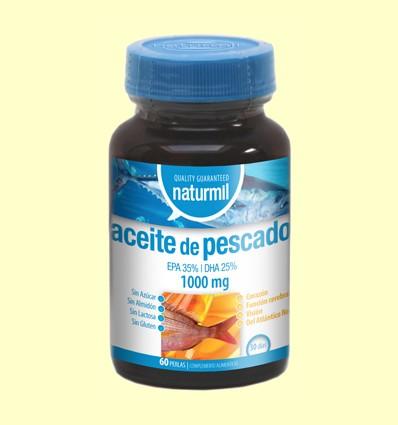 Aceite de Pescado 1000mg - Naturmil - 60 perlas