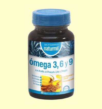 Omega 3, 6 y 9 - Naturmil - 60 perlas