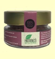 Escamas de Sal con Hibisco y Salvia Eco - Herbes de la Conca - 60 gramos