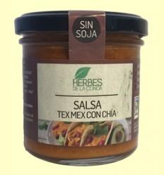 Salsa Tex Mex con Chía Eco - Herbes de la Conca - 150 gramos