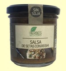 Salsa de Setas con Reishi Eco - Herbes de la Conca - 150 gramos