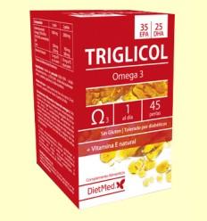 Triglicol Omega 35/25 - Dietmed - 45 perlas