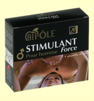Stimulant Force Pour Homme - Energía - Bipôle - 12 ampollas