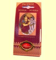 Incienso Cono Mirra - Myrrh - Flaires - 12 conos