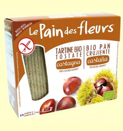 Pan de flores crujiente con Castaña Bio - Le Pain des fleurs - 150 gramos