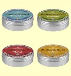 Kit 4 Mantecas de Karité Perfumadas Bio - Esential Aroms - 4 x 15 gramos