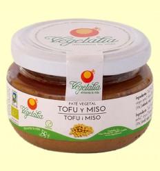 Paté de Tofu y Miso Bio - Vegetalia - 110 gramos