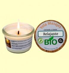 Vela Masaje Relajante Bio - Natural mente - 50 gramos