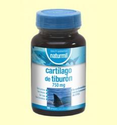 Cartílago de Tiburón 750mg - Naturmil - 90 cápsulas