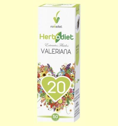 Extracto de Valeriana - Herbodiet - Novadiet - 50 ml
