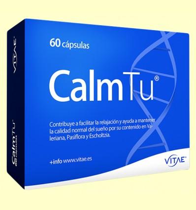 CalmTu - Sistema Nervioso - Vitae - 60 cápsulas *