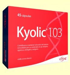 Kyolic 103 - Defensas - Vitae - 45 comprimidos