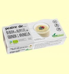 Postre de Bebida de Alpiste con Quina a la Vainilla Bio - Soria Natural - 2 unidades