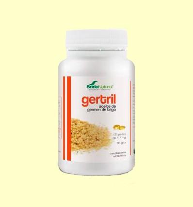 Gertril - Aceite de Germen de Trigo - Soria Natural - 125 perlas