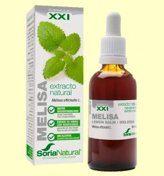 Melisa Extracto S XXI - Soria Natural - 50 ml