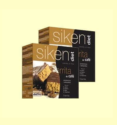Barrita de Café - Siken Diet - 2 x 5 barritas