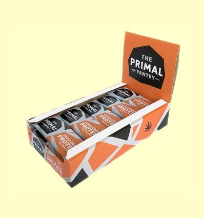 Barrita de Proteínas Naranja y Cacao - The Primal Pantry - 15 barritas