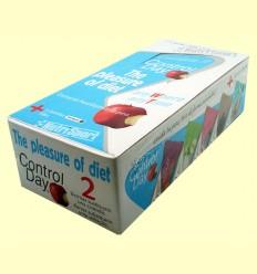 Barrita Control Day - Yogur Melocotón - NutriSport - 24 barritas