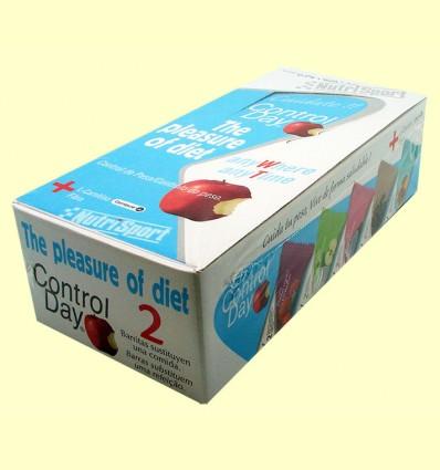 Barrita Control Day - Yogur Melocotón - NutriSport - 24 barritas *