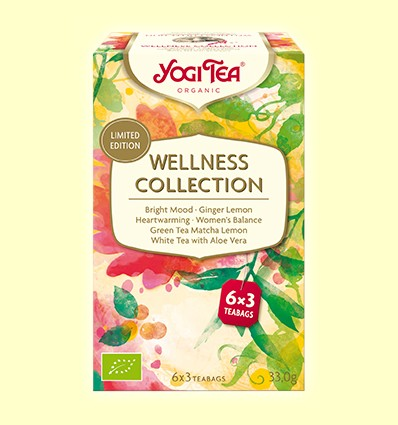 Wellness Collection - Yogi Tea - 18 bolsitas de infusión *