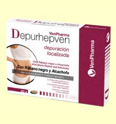 Depurhepven - Depurativo Hepático - VenPharma - 20 comprimidos