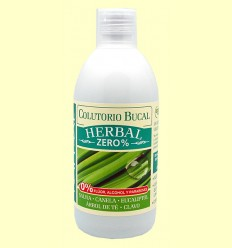 Colutorio Bucal Herbal Zero% - Natysal - 500 ml