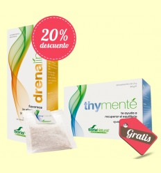 Pack Detox Drenalimp + Thymenté - Soria Natural - 250 ml