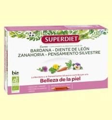 Cuarteto Bardana Bio - Belleza de la Piel - Super Diet - 20 ampollas