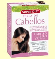 Perlas de Cabellos - Super Diet - 60 comprimidos