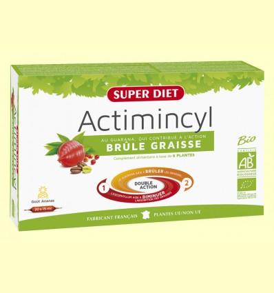 Actimincyl Bio - Quemagrasas - Super Diet - 20 ampollas