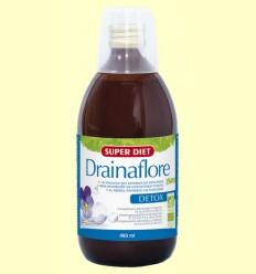 Drainaflore Bebida Bio - Detox - Super Diet - 480 ml