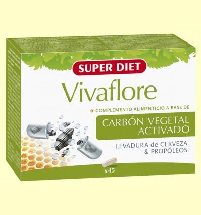 Vivaflore Gas Bio - Gases - Super Diet - 45 cápsulas